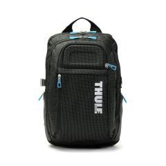 【正規品2年保証】 スーリー リュック THULE バックパック Thule Crossover Backpack 21L リュックサック デイパック B4 A4 PC収納 撥水 通勤 旅行 メンズ レディース TCBP-115 Black