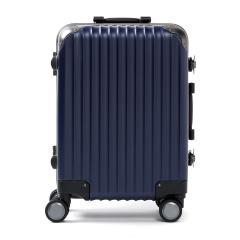 カーゴ スーツケース CARGO キャリーケース トリオ TRIO 機内持ち込み フレーム 旅行 Sサイズ 小型 TSAロック 34L 1~2泊程度 ハードケース TW-51 ディープブルー