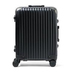 【正規品2年保証】カーゴ スーツケース CARGO キャリーケース トリオ TRIO フレーム 旅行 TSAロック 52L 3~5泊程度 ハードケース TW-64 ジェットブラック