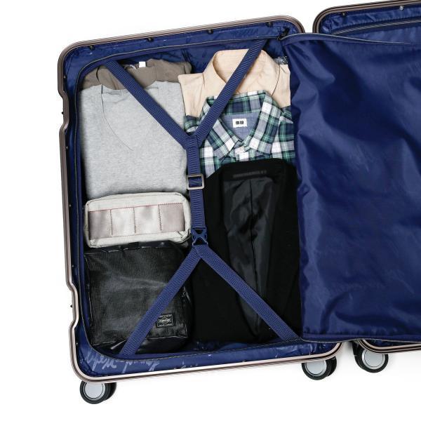 カーゴ スーツケース CARGO キャリーケース トリオ TRIO フレーム 旅行 TSAロック 100L 10~14泊程度 大容量 ハードケース TW-72 アイボリー