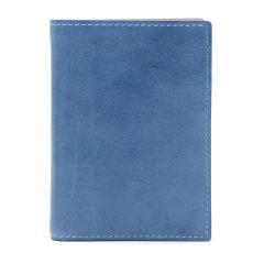 バギーポート 財布 BAGGY PORT 二つ折り財布 KOI INDIGO DYE SMOOTH 藍染めレザー 本革 メンズ レディース KOI コーアイ ZYS-096 ブルー