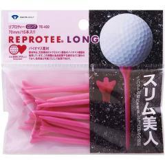 ダイヤゴルフ DAIYA GOLFリプロティー ロング70mm TE-432 ピンク