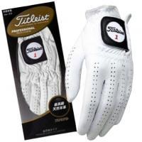 タイトリスト TITLEIST プロフェッショナル グローブ 5枚セット 25cm 左手着用(右利き用) ホワイト