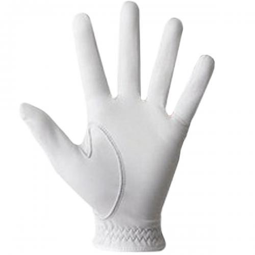 フットジョイ Foot Joy ピュアタッチ グローブ FGPUWT 5枚セット 22cm 左手着用(右利き用) ホワイト