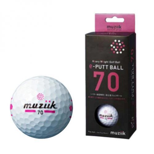 muziik e-PUTT ボール 70 2P ホワイト