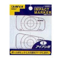 ダイヤゴルフ DAIYA GOLFインパクトマーカー アイアン用 AS-423