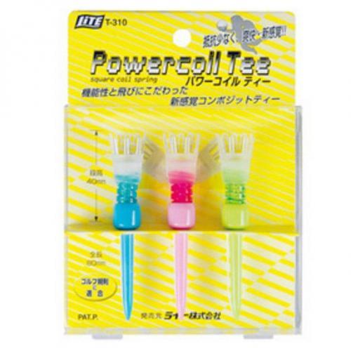 ライト Liteパワーコイル ティー パステル T-310 ブルー/ピンク/グリーン