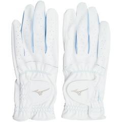 ミズノ MIZUNOefil手袋 両手用 45GH93112 18cm 両手用 ホワイト×サックス レディス