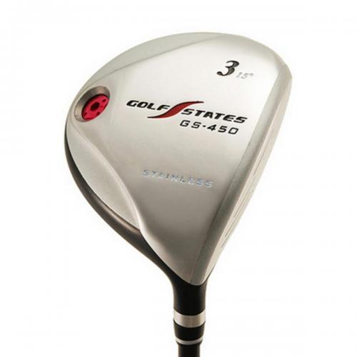 ゴルフステーツ GOLF STATES GS-450フェアウェイウッド ゴルフステーツオリジナルカーボン シャフト:ゴルフステーツオリジナルカーボン R 41 #7 21