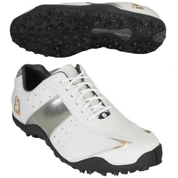 フットジョイ Foot Joy EXL スパイクレス シューズ 27cm 45185 ホワイト/シルバー/ゴールド