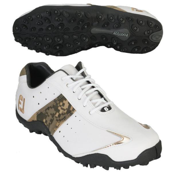 フットジョイ Foot Joy EXL スパイクレス シューズ 25.5cm 45126 ホワイト/ブラック/レッド
