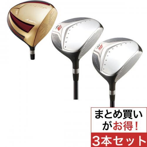 ワークス ゴルフ HYPERBLADE ハイパーブレードガンマ プレミア+フォーサイトFW (3本セット) ワークテックドラコンATTAS シャフト:ワークテックドラコンATTASカーボン SR 46 9.5 59