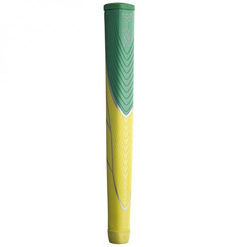 ウィン winn 88DC グリップ パター用 ウルトラビッグサイズ グリーン/イエロー