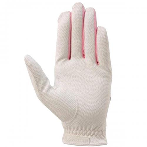 ミズノ MIZUNO efil手袋 45GH93110 10枚セット 18cm 左手着用(右利き用) ブラック/ピンク レディス
