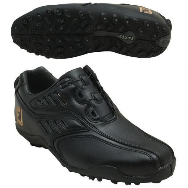 フットジョイ Foot Joy 12 EXL スパイクレスBoa シューズ 24.5cm ブラック