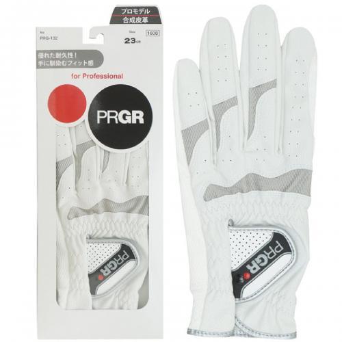 プロギア PRGR グローブ PRG-132 23cm 左手着用(右利き用) ブラック