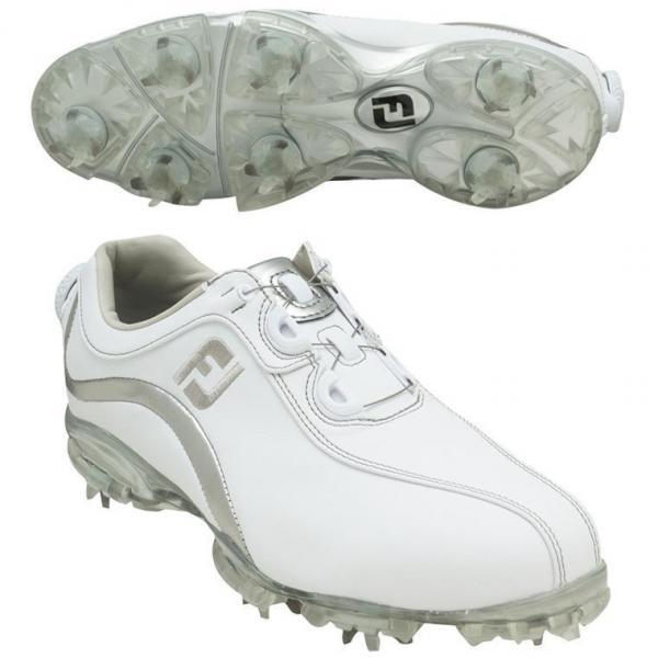 フットジョイ Foot Joy13 WOリールフィットシューズ 24cm 93809 ホワイト/シルバー レディス