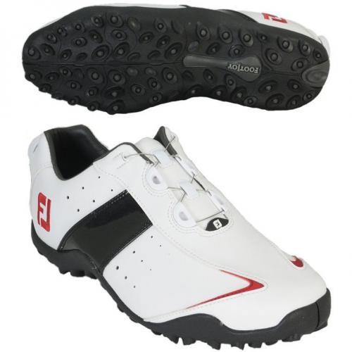 フットジョイ Foot Joy 14 EXL SLBoaシューズ 27.5cm ホワイト/ブラック/レッド