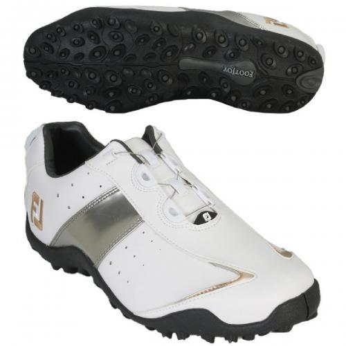 フットジョイ Foot Joy14 EXL SLBoaシューズ 26.5cm ホワイト/シルバー/ゴールド
