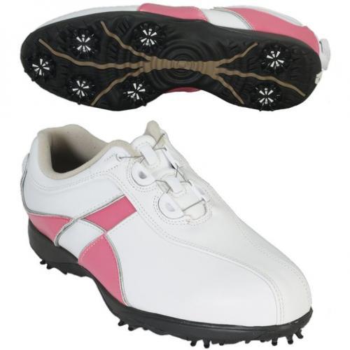 フットジョイ Foot Joy 14 EコンフォートBoaシューズ 23cm ホワイト×ピンク レディス