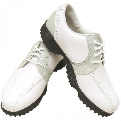 フットジョイ Foot Joy 14 WOグリーンジョイシューズ 22.5cm ホワイト×クラウド レディス