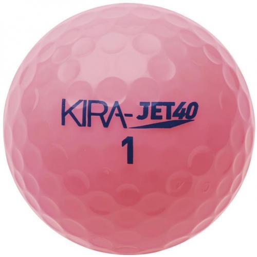 キャスコ KIRA KIRA JET 40 アベレージ向けボール 1スリーブ(4個入り) 1スリーブ(4個入り) ピンク