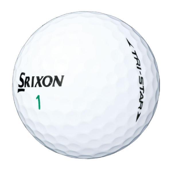 ダンロップ SRIXONTRI-STAR ボール 1ダース(12個入り) ホワイト