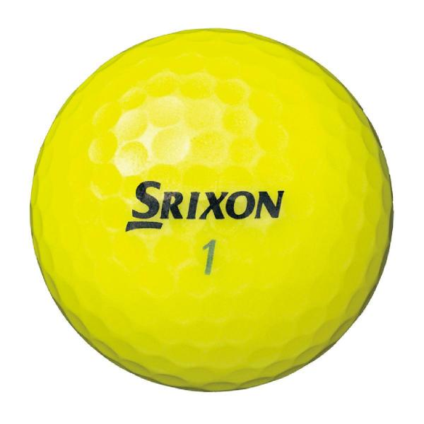 ダンロップ SRIXONTRI-STAR ボール 1ダース(12個入り) プレミアムパッションイエロー