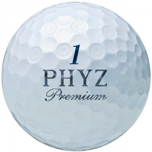 ブリヂストン PHYZPHYZ プレミアムボール 1ダース(12個入り) ゴールドパール
