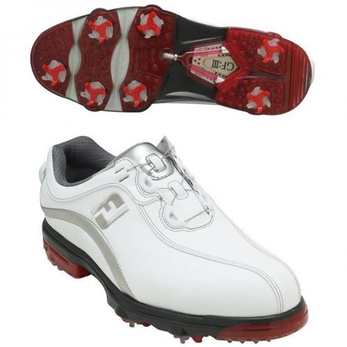 フットジョイ Foot JoyGF:III Boaシューズ  ウィズ:W 26cm 59806 ホワイト/シルバー