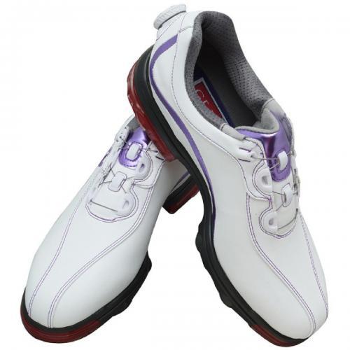 フットジョイ Foot JoyGF:III Boaシューズ  ウィズ:W 26.5cm 59839 ホワイト/パープル