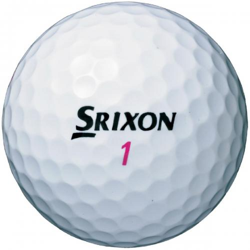 ダンロップ SRIXONスリクソン ソフトフィール ボール 1ダース(12個入り) ホワイト レディス