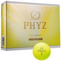 ブリヂストン PHYZ PHYZ ボール 2015年モデル 1ダース(12個入り) イエロー