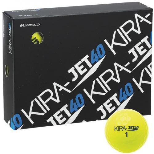 キャスコ KIRA KIRA JET 40 アベレージ向けボール 3ダースセット 3ダース(36個入り) イエロー