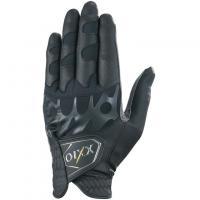 ダンロップ XXIO ゴルフグローブ レフティ GGG-X008R 22cm 右手着用(左利き用) ブラック