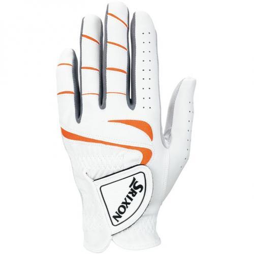 ダンロップ SRIXON ゴルフグローブ GGG-S014 23cm 左手着用(右利き用) ホワイト/オレンジ
