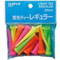 ダイヤゴルフ DAIYA GOLF蛍光ティー レギュラー ミックス(イエロー/グリーン/ピンク/オレンジ)
