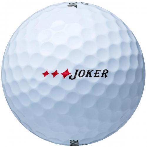 ブリヂストン JOKERJOKERボール 1ダース(12個入り) イエロー