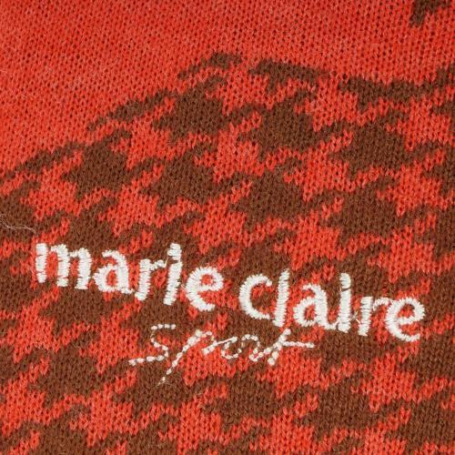 マリクレール marie claireジップアップセーター レディス