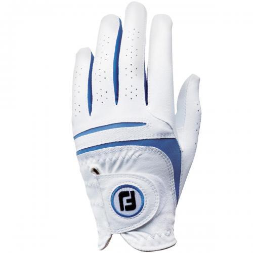フットジョイ Foot Joy 15 ウェザーソフ グローブ 両手用 FGWF5PR 5セット 18cm 両手用 ホワイト/ブルー レディス