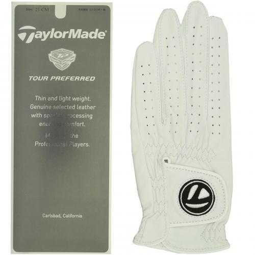 テーラーメイド Taylor Madeツアープリファードジェニュインレザーグローブ 23cm 左手着用(右利き用) ブラック B16644