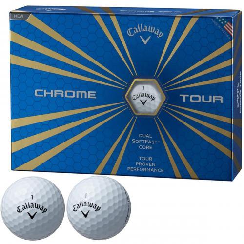 キャロウェイゴルフ CHROME TOUR クロムツアーボール 1ダース(12個入り) ホワイト