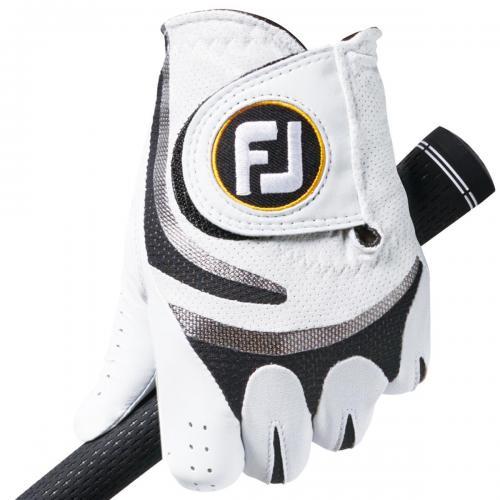 フットジョイ Foot Joy 16 サイフレックスツアーグローブ FGSF16 5枚セット 22cm 左手着用(右利き用) ホワイト/レッド