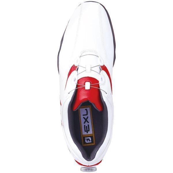 フットジョイ Foot Joy16 EXL スパイク Boa シューズ 25.5cm ホワイト/ネイビー