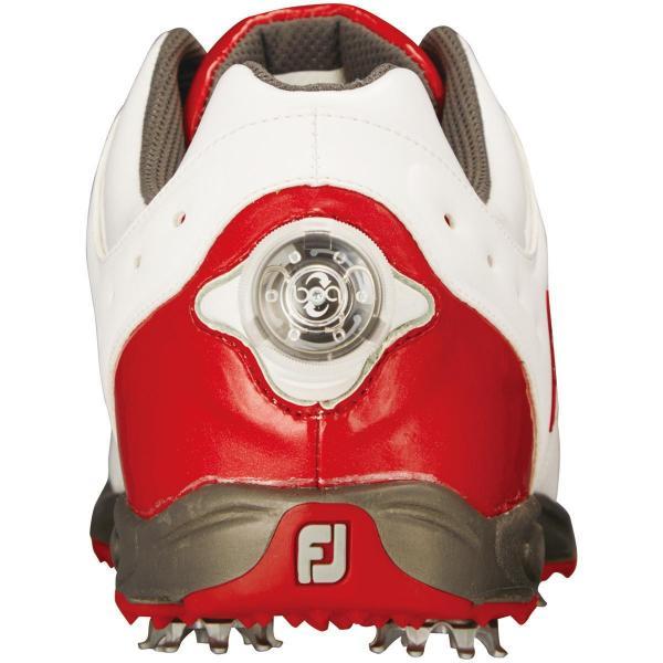 フットジョイ Foot Joy 16 EXL スパイク Boa シューズ 26cm ホワイト/ネイビー