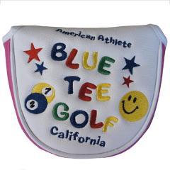 ブルーティーゴルフ BLUE TEE GOLF スマイル&ピンボール パターカバー