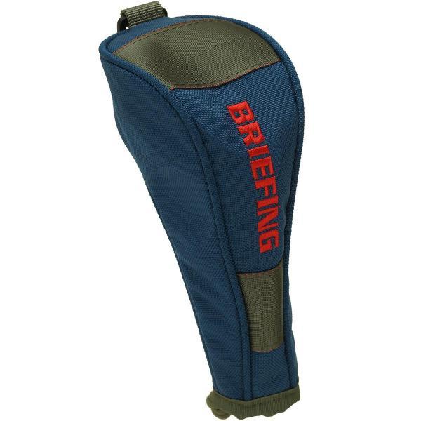ブリーフィング BRIEFING ヘッドカバー UT用 BRF320219 有り/付け替え式(3、5、X) ブルー