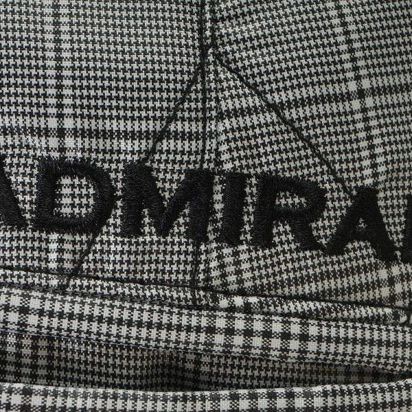 アドミラル Admiral キルト ストレートパンツ ADMA6W4