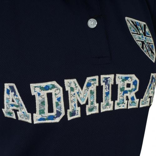 アドミラル Admiral 小花アップリケ 半袖ポロシャツ ADLA653 レディス
