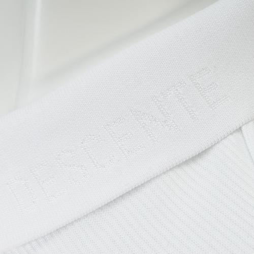デサントゴルフ DESCENTE GOLF フィルムヤーンボーダー ジップアップ 長袖ポロシャツ DGM1026F